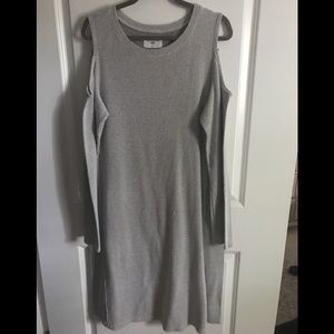 Anthropologie Sol Angeles Cold Shoulder Dress, XL